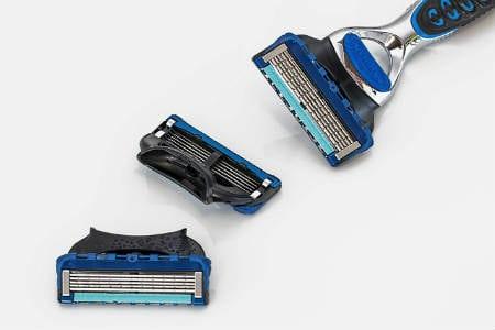 aparelhos de barbear e acessorios - embalagem blister